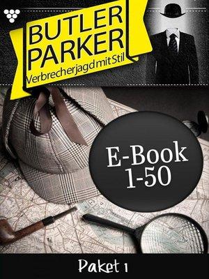 cover image of Butler Parker Paket 1 – Kriminalroman
