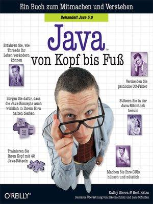 cover image of Java von Kopf bis Fuß