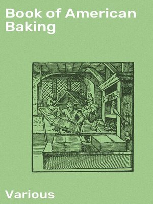 cover image of Book of American Baking