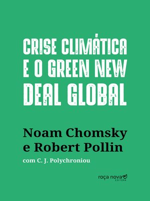 cover image of Crise climática e o Green New Deal global