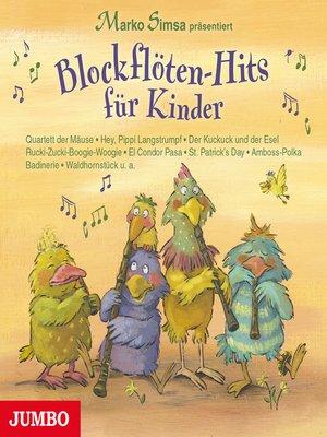 cover image of Blockflöten-Hits für Kinder