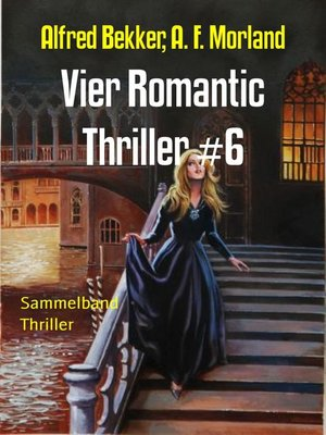 cover image of Vier Romantic Thriller #6