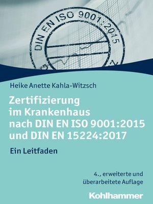 cover image of Zertifizierung im Krankenhaus nach DIN EN ISO 9001