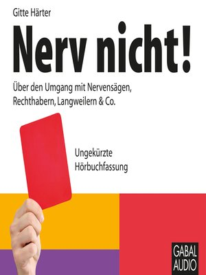 cover image of Nerv nicht!