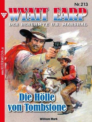cover image of Wyatt Earp 213 – Western