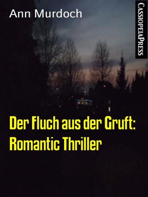 cover image of Der Fluch aus der Gruft