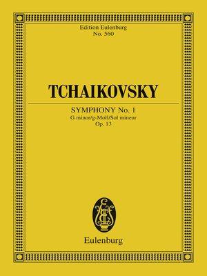 cover image of Symphony No. 1 G minor