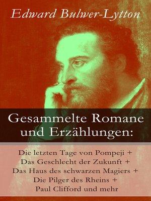 cover image of Gesammelte Romane und Erzählungen