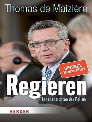 cover image of Regieren