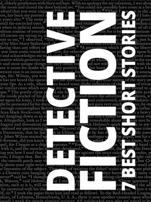 cover image of 7 best short stories--Detective Fiction
