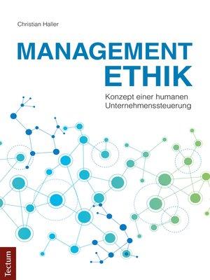cover image of Managementethik