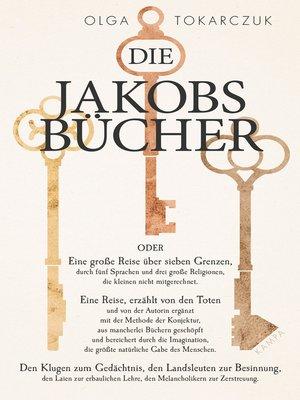 cover image of Die Jakobsbücher
