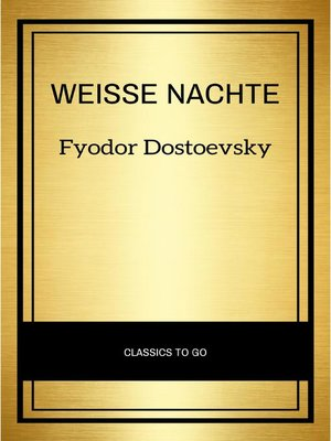 cover image of Weisse Nachte