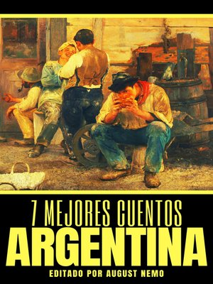 cover image of 7 mejores cuentos--Argentina