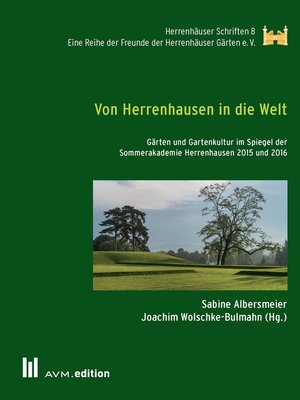 cover image of Von Herrenhausen in die Welt