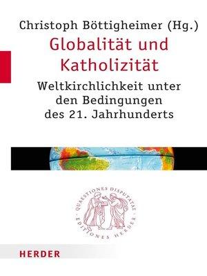 cover image of Globalität und Katholizität
