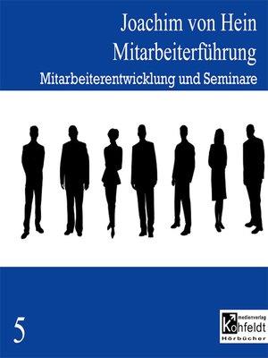 cover image of Mitarbeiterentwicklung und Seminare