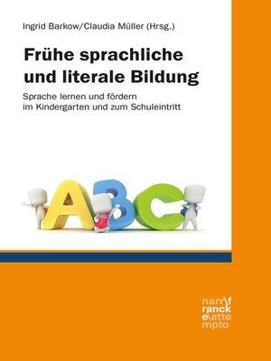 cover image of Frühe sprachliche und literale Bildung