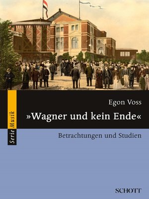 "cover image of ""Wagner und kein Ende"""