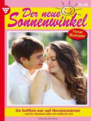 cover image of Der neue Sonnenwinkel 61 – Familienroman