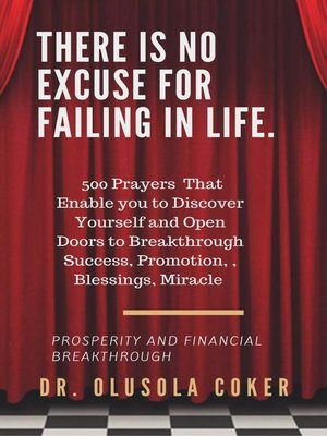 cover image of There is no excuse for failing in life