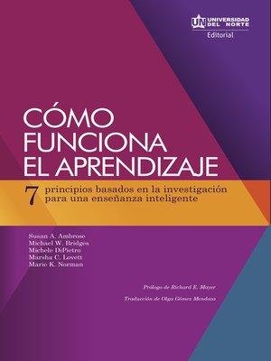 cover image of Cómo funciona el aprendizaje