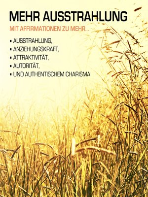 cover image of MEHR AUSSTRAHLUNG