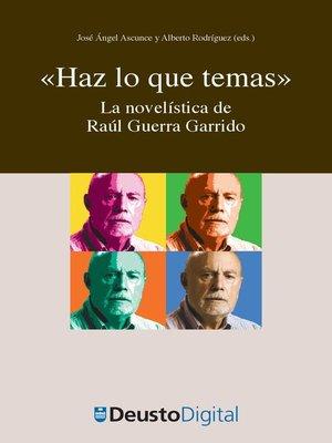 """cover image of """"Haz lo que temas"""""""