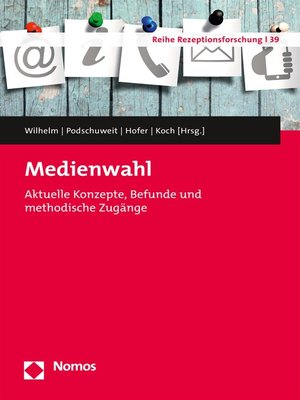 cover image of Medienwahl