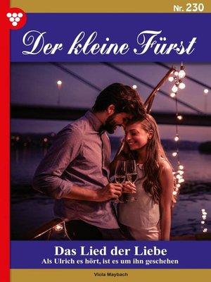 cover image of Der kleine Fürst 230 – Adelsroman