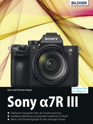 cover image of Sony Alpha 7R III