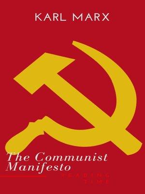 cover image of The Communist Manifesto