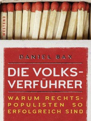 cover image of Die Volksverführer