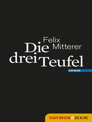 cover image of Die drei Teufel