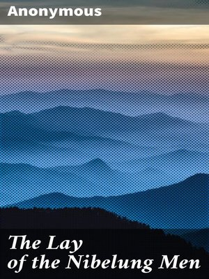 cover image of The Lay of the Nibelung Men