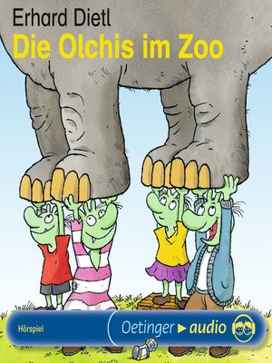cover image of Die Olchis im Zoo
