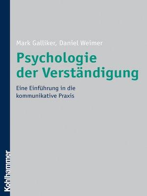 cover image of Psychologie der Verständigung