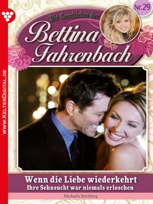 cover image of Bettina Fahrenbach 29 – Liebesroman