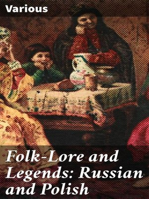 cover image of Folk-Lore and Legends