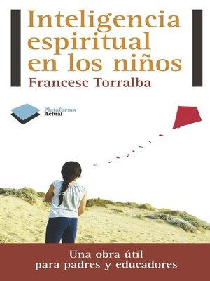 cover image of Inteligencia espiritual en los niños