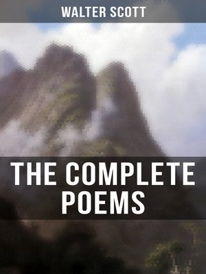 cover image of The Complete Poems of Sir Walter Scott