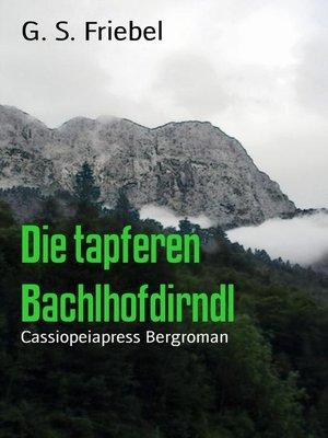 cover image of Die tapferen Bachlhofdirndl