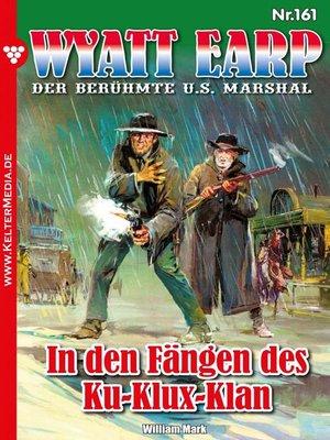 cover image of Wyatt Earp 161 – Western
