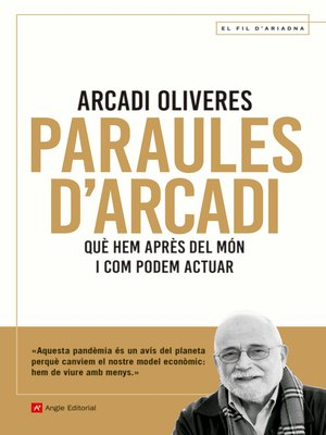 cover image of Paraules d'Arcadi