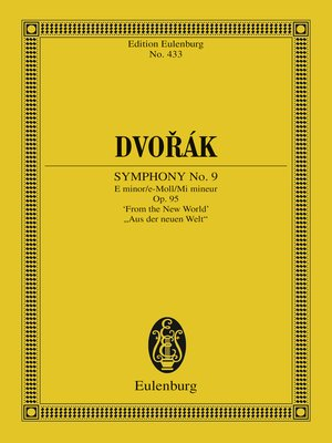 cover image of Symphony No. 9 E minor