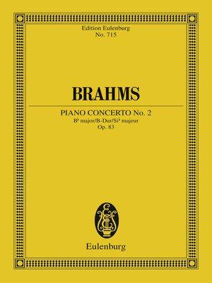 cover image of Piano Concerto No. 2 Bb major