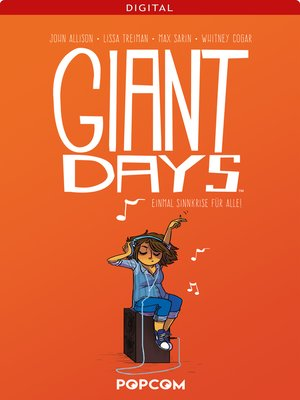 cover image of Giant Days 02