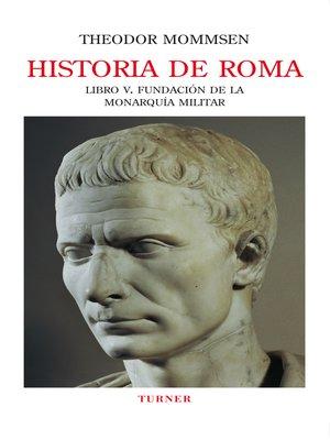 cover image of Historia de Roma. Libro V
