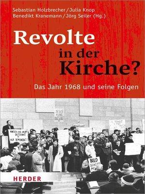 cover image of Revolte in der Kirche?