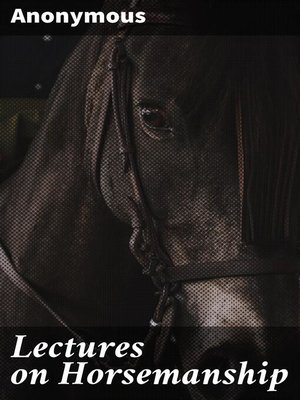 cover image of Lectures on Horsemanship